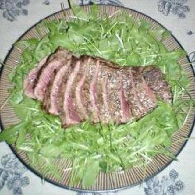 タリアータ ディ マンゾ(イタリア版牛肉のたたき)