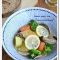 手羽先とごろごろ野菜のレモンスープ【食べる野菜パワースープレシピ】