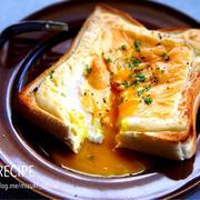 ♡ドテマヨトースト♡【#レシピ#簡単#食パン#朝食】