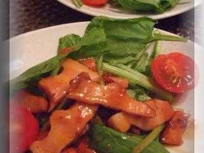 >ほうれん草とベーコンのトマドレサラダ by のりこりんさん