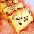 HMで★チョコチップ入りヨーグルトパウンドケーキ by 銀木さん