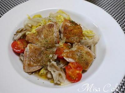 鶏肉と白菜のソテー煮