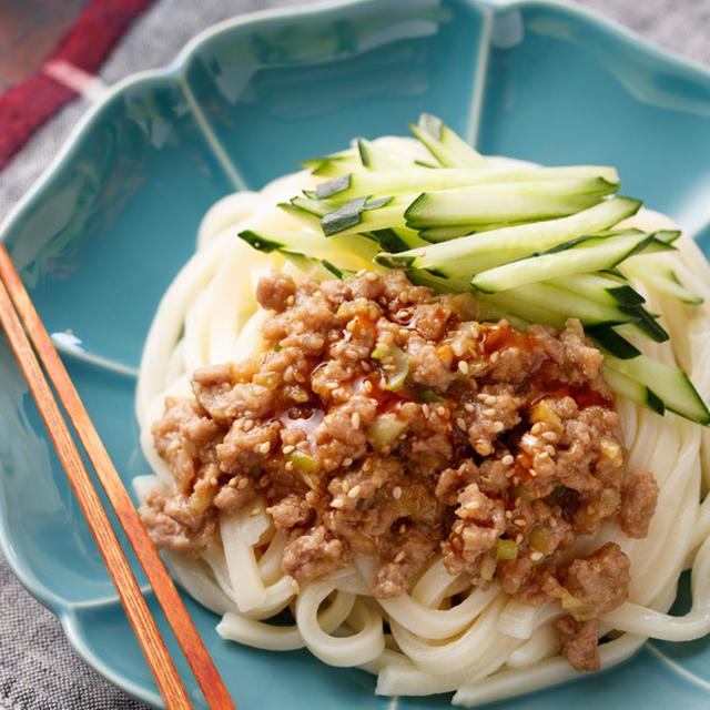 ジャージャーうどん【#作りおき #冷凍保存 #肉も野菜も食べれる #お子様への取り分け可 #ランチ #主食】