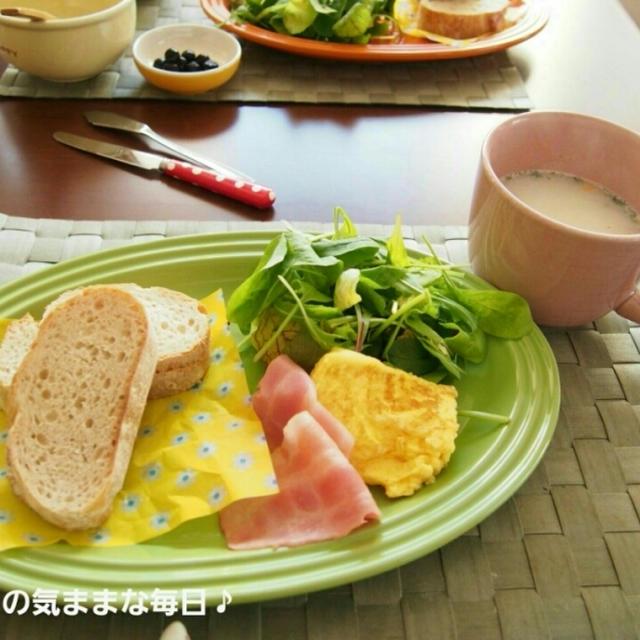 今週の朝ごはん☆~10月3週目~