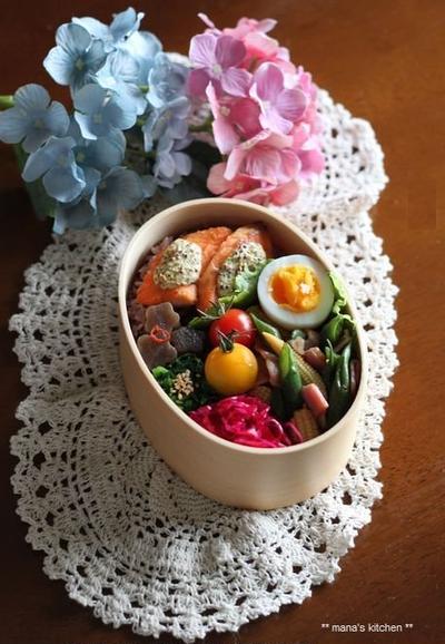 鮭の粒マスタードマヨグリル(๑¯﹃¯๑)♪