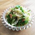 白菜とツナのサラダ