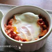 卵のトマト煮込み