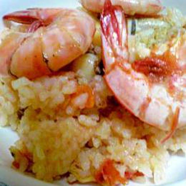 海鮮☆トマト炊き込みご飯