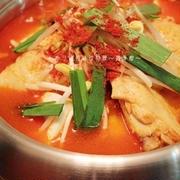 美肌トマトキムチ鍋
