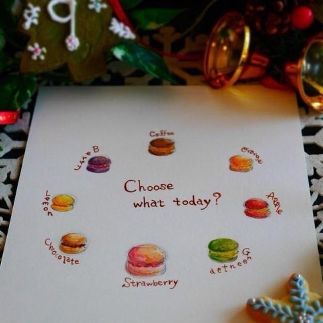 2014*Xmas Advent calendar*Dec.9*Macaron(マカロン)