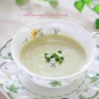 ☆初夏の冷製枝豆スープ☆