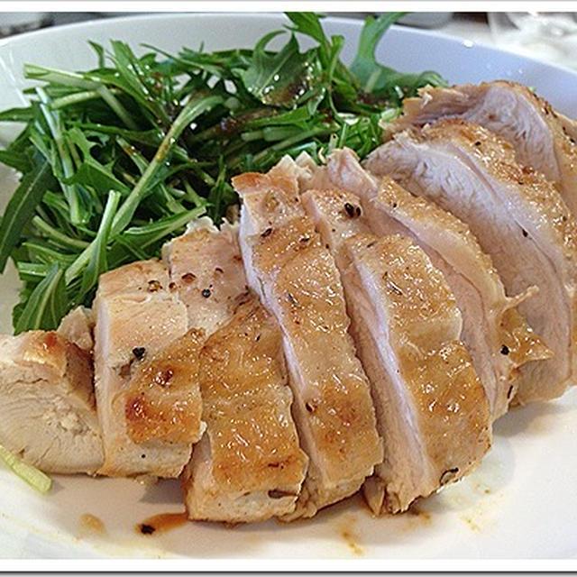 鶏胸肉ソテーレシピ!簡単クレイジーソルトでイタリアンに!