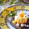 【ミモザの日】ミモザの日のポワポワさわやかレモンケーキ