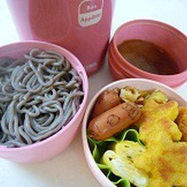 TAKANOのモモゼリーとざるそば弁当~~♪  飾り巻き寿司レッスンJEUGIAカルチャー千里