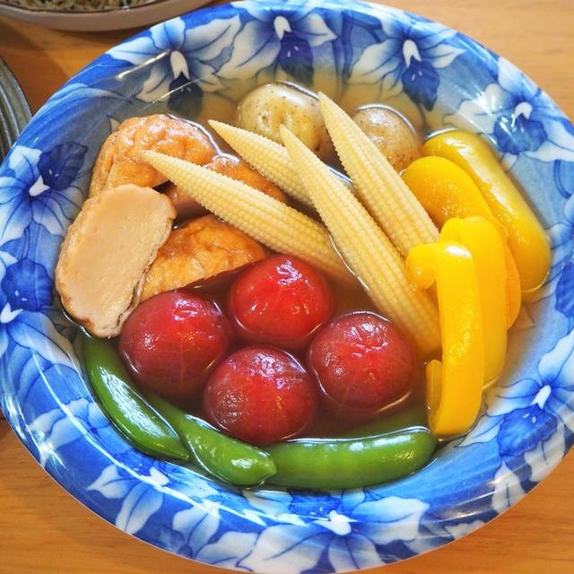 夏野菜の冷やしおでん