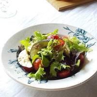 生でもおいしい♪ なすとミニトマトのサラダ アンチョビドレッシング <ボーソー米油部>