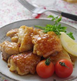 鶏肉のスイートチリソース炒め