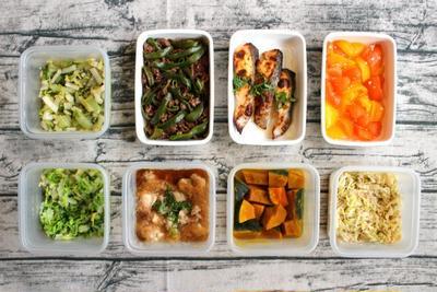 70分で8品。1週間の簡単作り置きおかず・常備菜レシピとスピード献立レポート