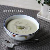 ハーブが香る空豆のポタージュスープ