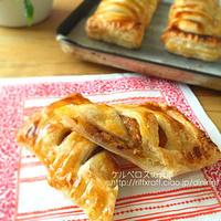 月餅風カボチャ餡で作るパンプキンパイ