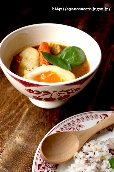 北海道産ごろっと野菜の本格スープカレー