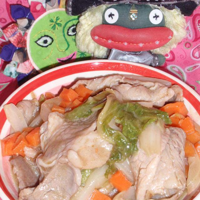 豚肉と白菜の柚子コショウ蒸し&ほうれん草の白味噌チーズ焼き(お家カフェ)