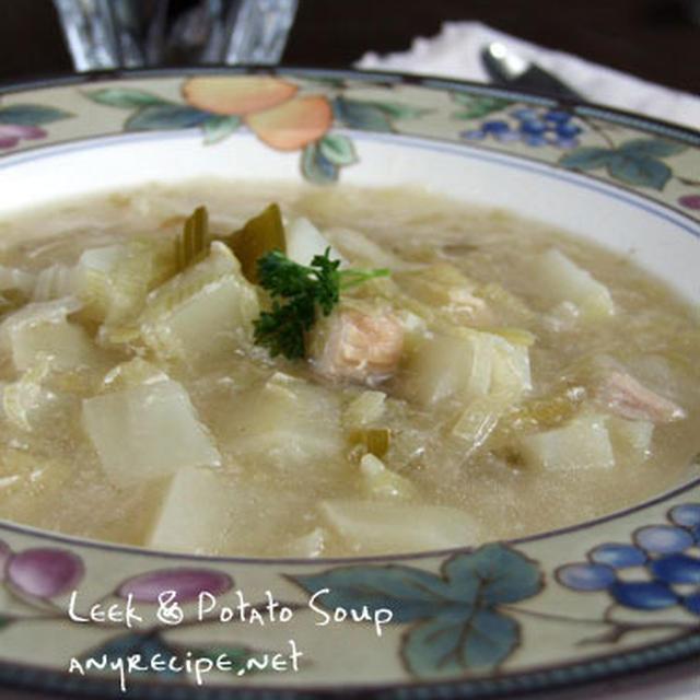 Leekとジャガイモのスープ
