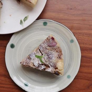 ホットケーキミックスと炊飯器で簡単♪*さつまいもとレーズンのケーキ*