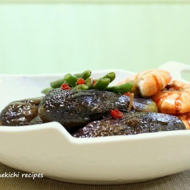 ピリッと「茄子と海老のまるごと煮」&「漬けマグロとオクラの山かけ」&「女性セブン」