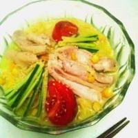 美肌アボカド冷やし麺のレシピ