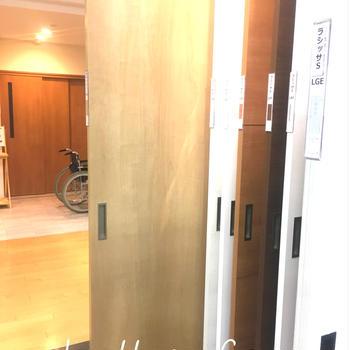 床と建具の検討 in LIXIL
