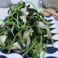 5分以内でヤミツキ副菜♪ ささみと豆苗のナムル by 花ぴーさん