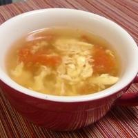 トマトと卵の中華スープ
