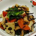 ダイエットメニュー☆高野豆腐とひじきの炒り煮