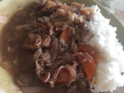 大豆ミートのハヤシライス