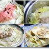 白菜と豚肉の重ね煮・クローブ風味。