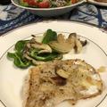 今日の料理♡真鱈のムニエル