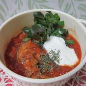サバ缶とキャベツのトマト煮込み スパイス仕立て