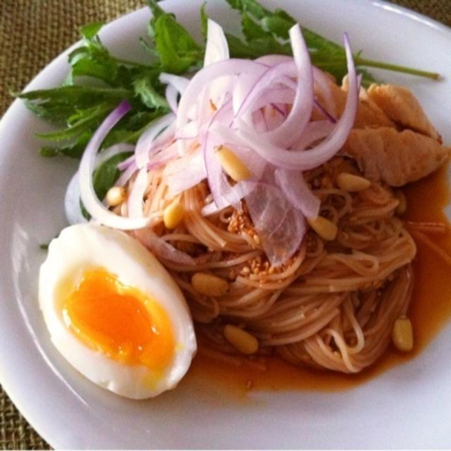 ピリ辛★ビビン素麺