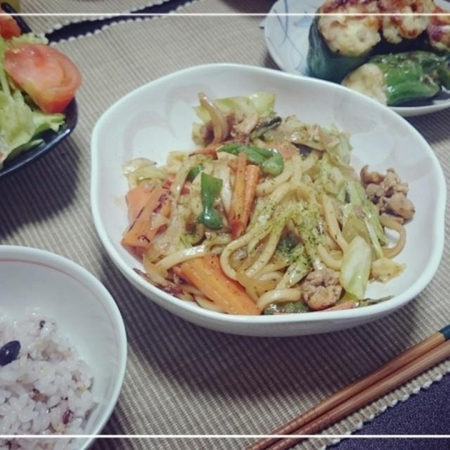 にんじんと水菜の「野菜の肉巻き✨巻き✨」絶品甘辛タレでごはんかすすむ♪♪