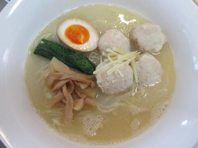 「鯛白湯ラーメン」の実食!