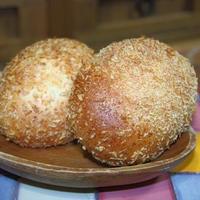 カレーパンと角食パン