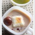 ■黒糖ミルクぜんざい■ by のんのんさん