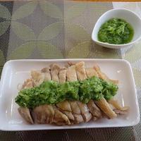 カンタン酢の鶏肉レンジ蒸し