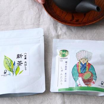 日本一早い新茶が届きました