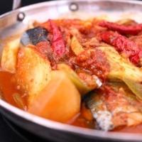 ★さんまの韓国風大根煮(꽁치무조림)。