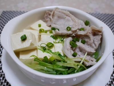 塩豚肉豆腐