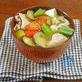 たっぷり夏野菜の絶品 豚汁