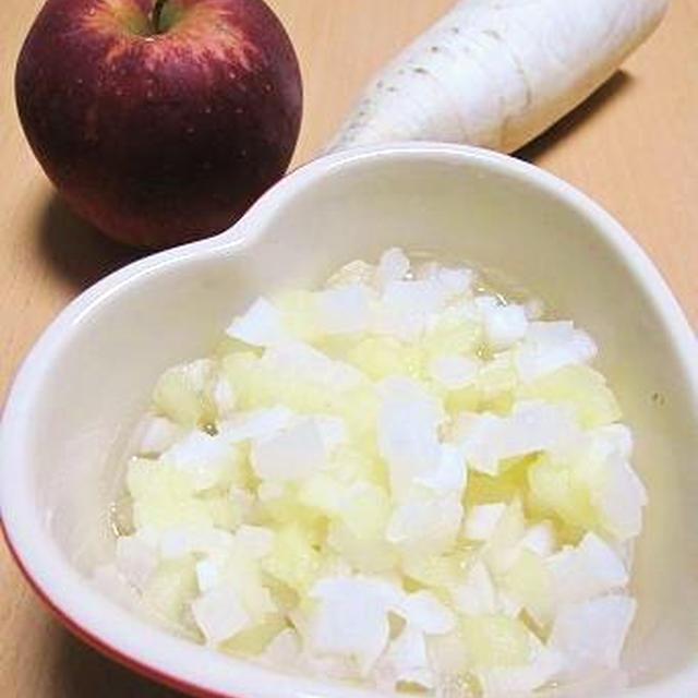 『ベジフルおやつ』 驚いた!りんごのレシピ