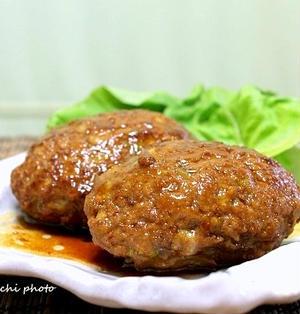 和風な「キャベツハンバーグ」&包丁要らずの「「レタスと鶏ささみ肉の中華風サラダ」」